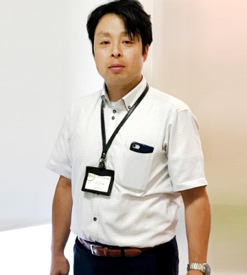 株式会社マルミ歯科商店 香川営業所 副所長 中ノ内英雄