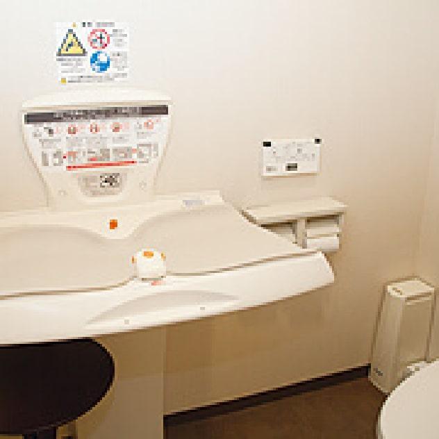 はる歯科診療室 トイレ個室内