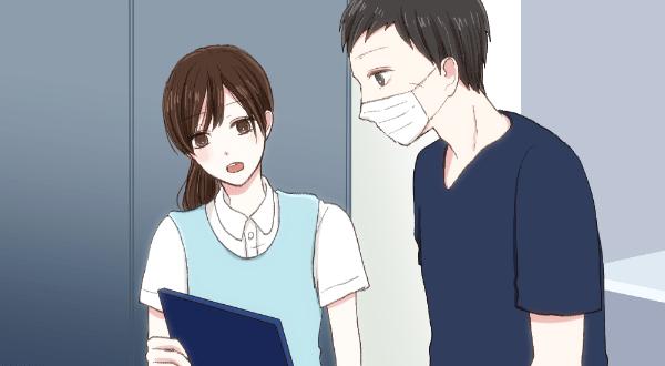診察の様子